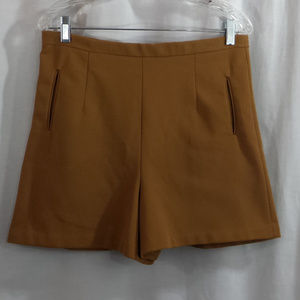 Vintage 70's Jack Winters Brown Polyester Shorts